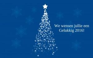 blauwe kerstboom sterren kerstwensen 2016