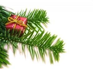 kersttak met cadeautje voor 2018