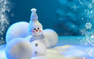 sneeuwpop kerst 2018