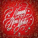 happy new year rood nieuwjaar