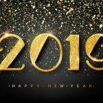 nieuwjaar 2019 goud