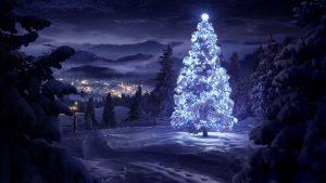 winterslandschap kerst