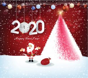 2020 kerstwens kerstman