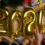 2020 ballonnen kerst