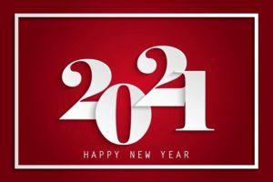 2021 nieuwjaarswensen rood