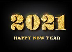 nieuwjaarswensen 2021 goud glitter